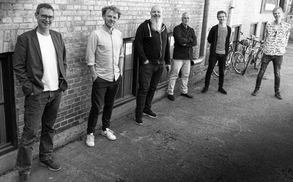 Fem fremragende danske jazzmusikere medvirker på indspilningen